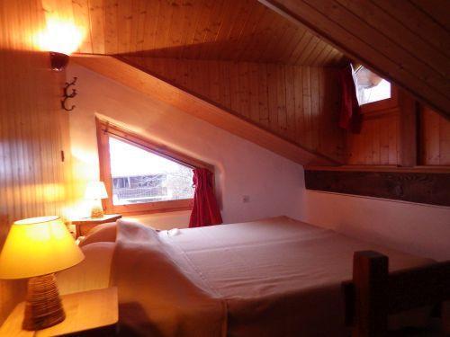 Vacances en montagne Studio mezzanine 4 personnes - Résidence les Edelweiss - Champagny-en-Vanoise - Lit double