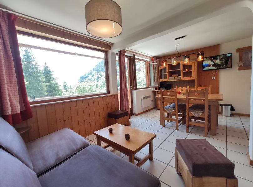 Vakantie in de bergen Résidence les Edelweiss - Champagny-en-Vanoise - Woonkamer