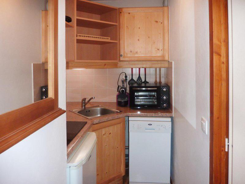 Vacaciones en montaña Apartamento 2 piezas para 6 personas (810) - Résidence les Eglantines - Les Orres - Kitchenette