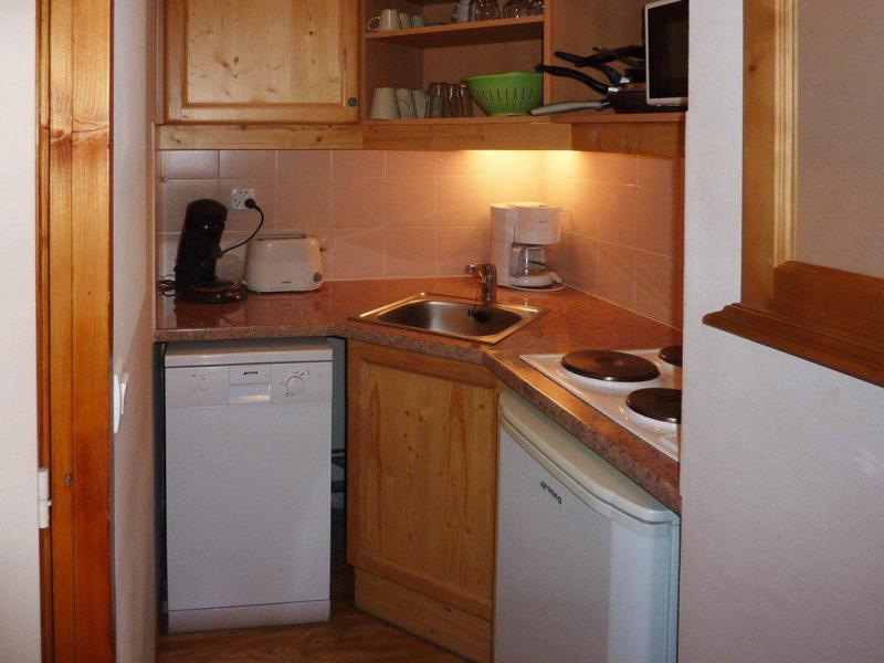 Vacaciones en montaña Apartamento 2 piezas para 6 personas (812) - Résidence les Eglantines - Les Orres - Kitchenette