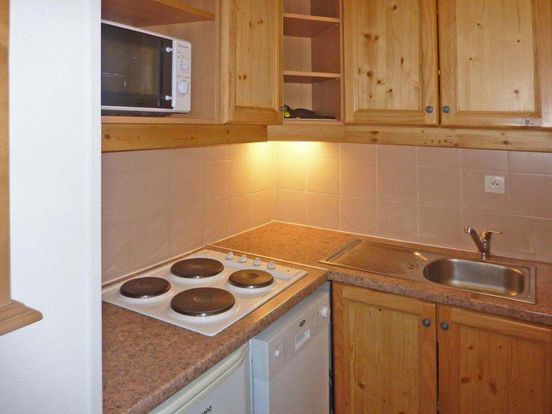 Vacaciones en montaña Apartamento 2 piezas para 6 personas (813) - Résidence les Eglantines - Les Orres - Kitchenette