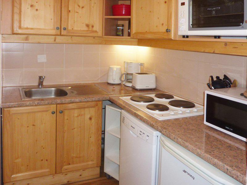 Vacaciones en montaña Apartamento cabina 2 piezas para 6 personas (814) - Résidence les Eglantines - Les Orres - Cocina