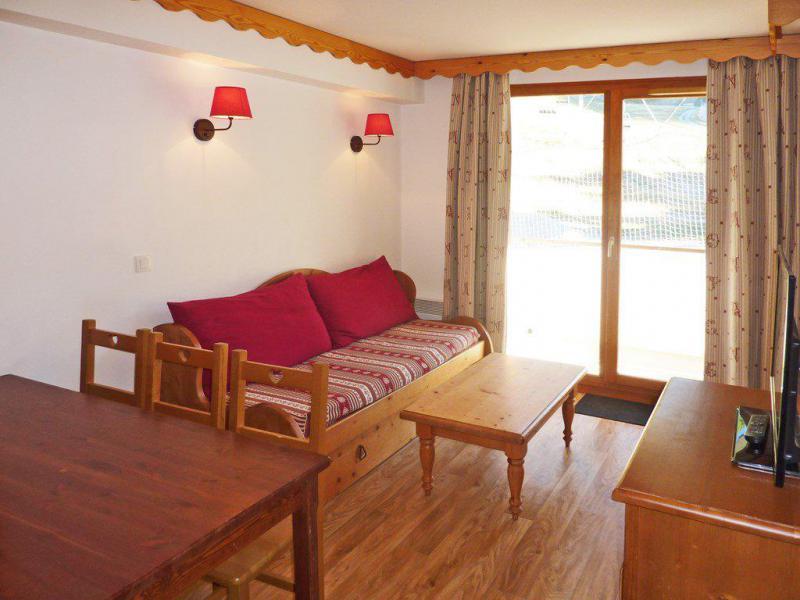 Vacaciones en montaña Apartamento cabina 2 piezas para 6 personas (814) - Résidence les Eglantines - Les Orres - Sofá-cama