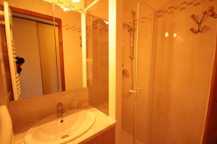 Vacaciones en montaña Apartamento 2 piezas para 5 personas (110) - Résidence les Epervières - Les Saisies - Ducha