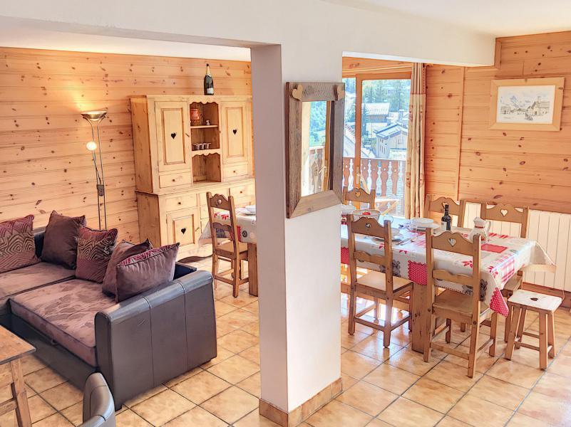 Wakacje w górach Dom 5 pokojowy dla 8 osób - Résidence les Esserts - Saint Martin de Belleville - Pokój gościnny