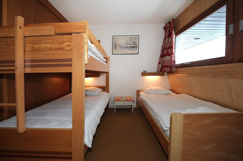 Urlaub in den Bergen 2-Zimmer-Maisonettewohnung für 5 Personen (606) - Résidence les Evons - Les Menuires - Bett