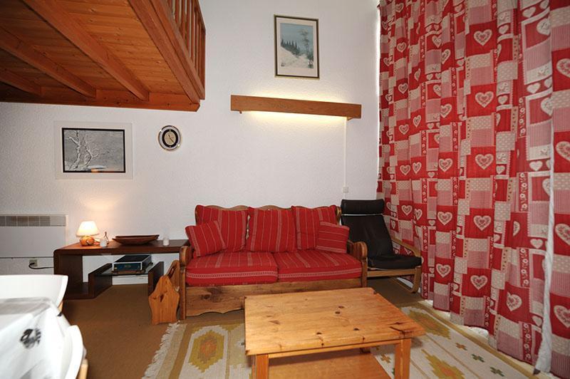 Urlaub in den Bergen 2-Zimmer-Maisonettewohnung für 5 Personen (606) - Résidence les Evons - Les Menuires - Sitzbank