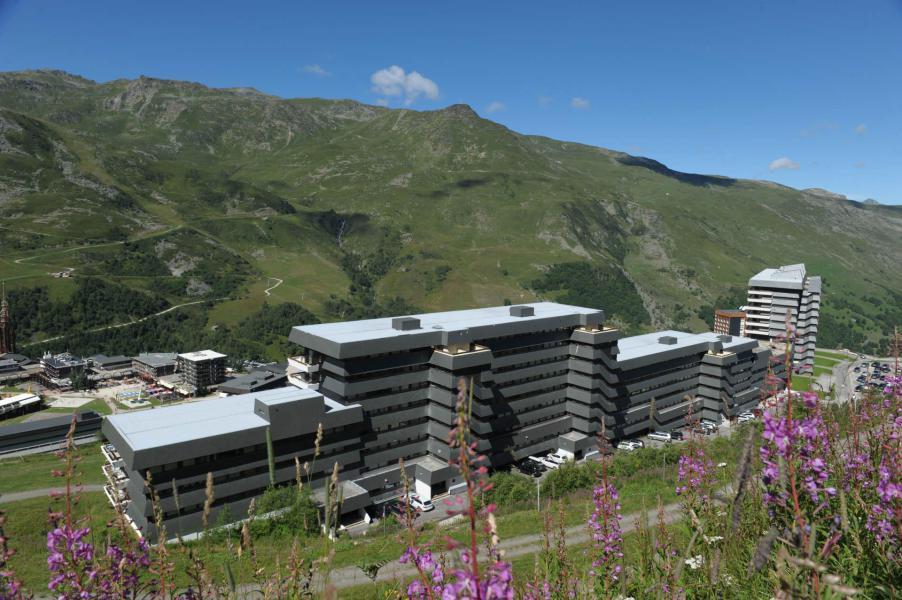 Location au ski Residence Les Evons - Les Menuires - Extérieur été