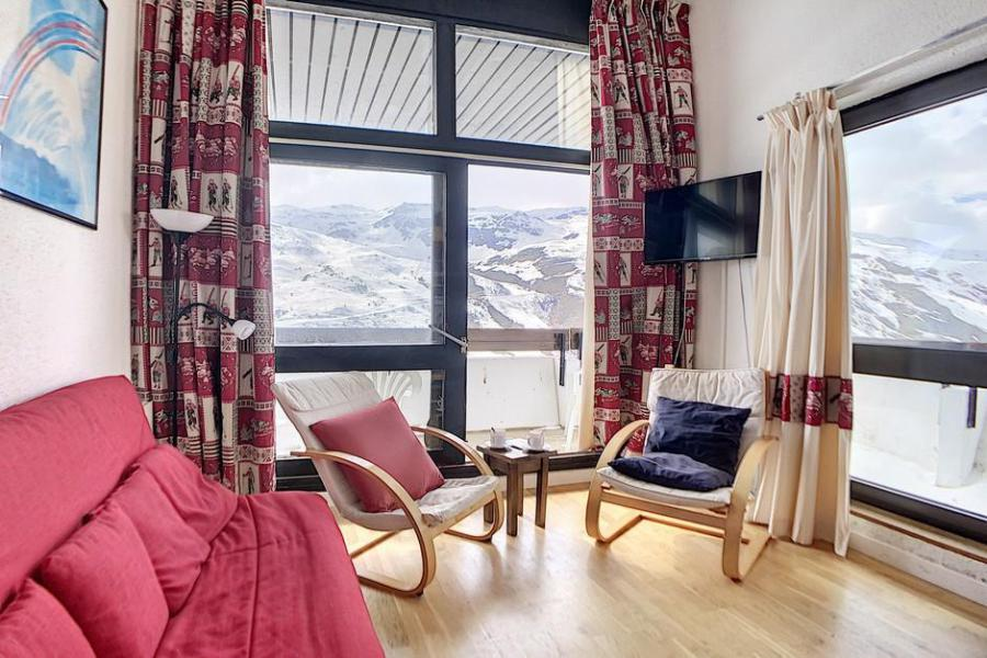 Holiday in mountain resort 2 room duplex apartment 6 people (601) - Résidence les Evons - Les Menuires