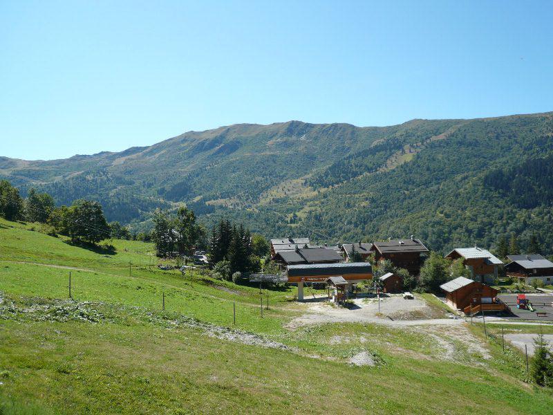 Location au ski Appartement 3 pièces 6 personnes (14) - Résidence les Fermes de Méribel Bat D1 - Méribel - Extérieur été