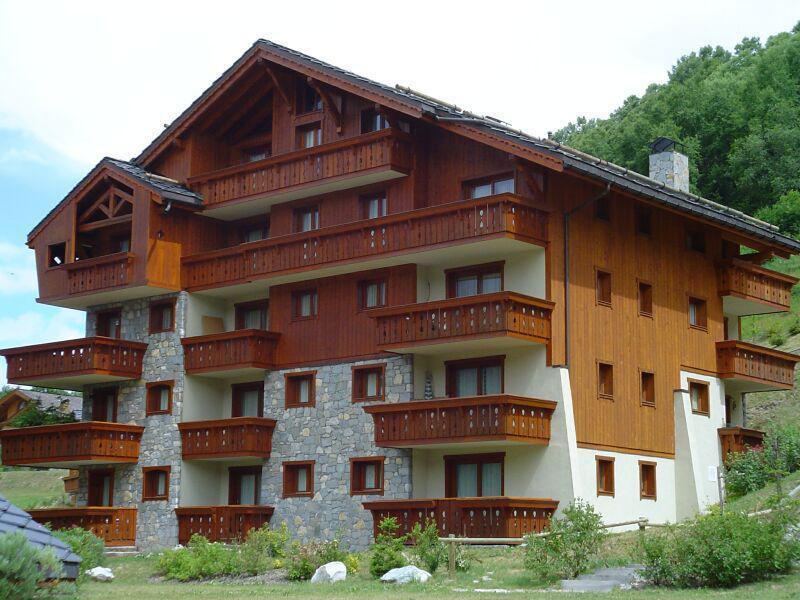 Location au ski Résidence les Fermes de Méribel Bat G - Méribel - Extérieur été
