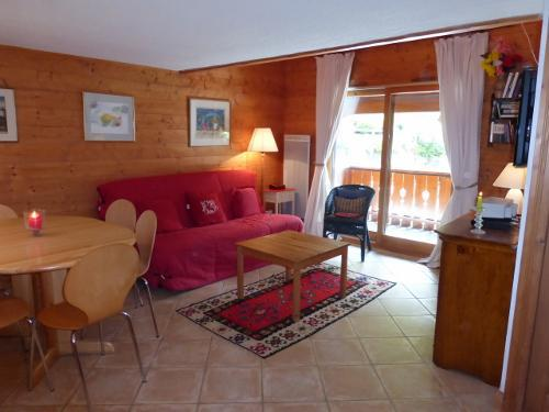 Vacances en montagne Appartement duplex 3 pièces 6 personnes (18) - Résidence les Fermes de Méribel Bat G - Méribel - Séjour