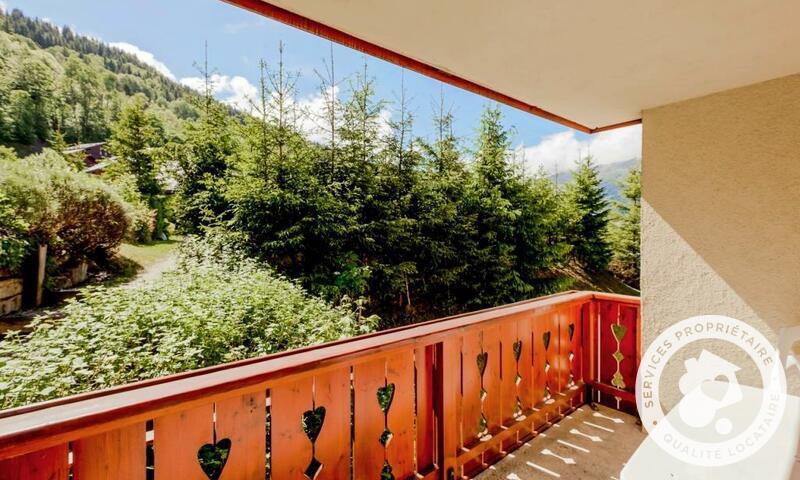Location au ski Appartement 2 pièces 4 personnes (Sélection 40m²) - Résidence les Fermes de Méribel - Maeva Home - Méribel - Extérieur été
