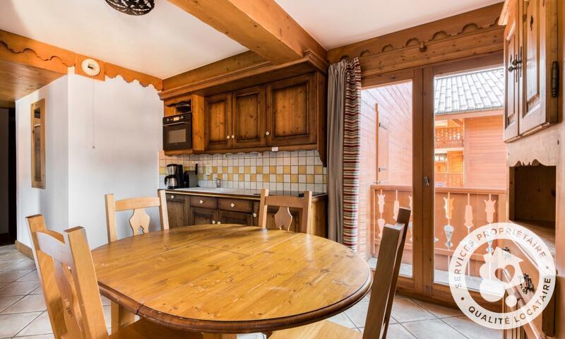 Аренда на лыжном курорте Апартаменты 3 комнат 5 чел. (Sélection -2) - Résidence les Fermes du Soleil - Maeva Home - Les Carroz - летом под открытым небом