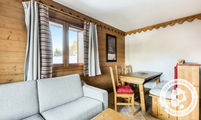 Аренда на лыжном курорте Апартаменты 3 комнат 6 чел. (Sélection -1) - Résidence les Fermes du Soleil - Maeva Home - Les Carroz - летом под открытым небом