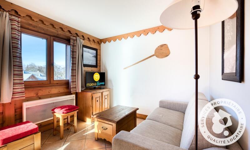 Аренда на лыжном курорте Апартаменты 3 комнат 6 чел. (Sélection ) - Résidence les Fermes du Soleil - Maeva Home - Les Carroz - летом под открытым небом
