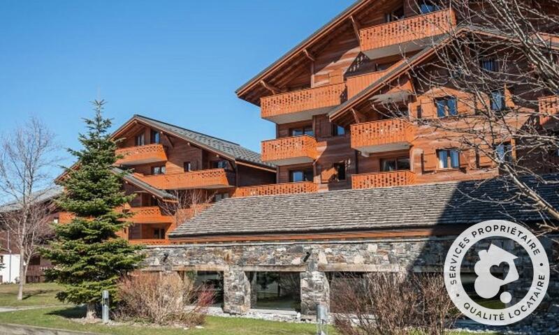 Аренда на лыжном курорте Апартаменты 3 комнат 6 чел. (Sélection 45m²-1) - Résidence les Fermes du Soleil - Maeva Home - Les Carroz - летом под открытым небом