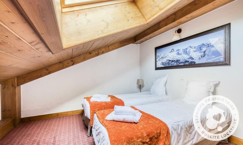 Аренда на лыжном курорте Апартаменты 4 комнат 8 чел. (Sélection -3) - Résidence les Fermes du Soleil - Maeva Home - Les Carroz - летом под открытым небом