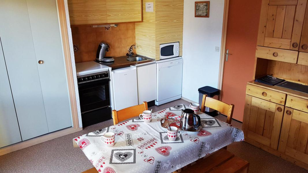 Wakacje w górach Studio kabina 4 osoby (55) - Résidence Les Fleurs - Aussois
