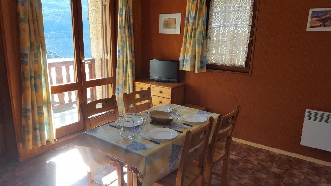 Wakacje w górach Apartament 2 pokojowy 4 osób (127) - Résidence Les Fleurs - Aussois - Pokój gościnny