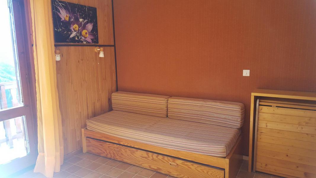 Wakacje w górach Studio 2 osoby (170) - Résidence Les Fleurs - Aussois - Rozkładaną sofą