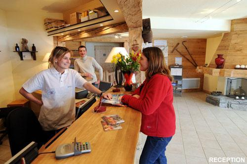 Vacances en montagne Residence Les Flocons D'argent - Aussois - Réception