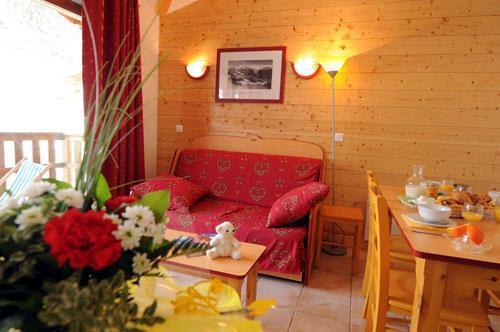 Vacances en montagne Appartement 4 pièces 8 personnes - Residence Les Flocons D'argent - Aussois - Séjour
