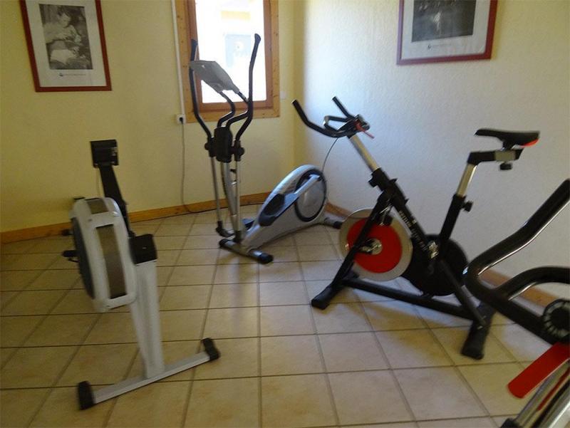 Vacances en montagne Residence Les Flocons D'argent - Aussois - Espace fitness