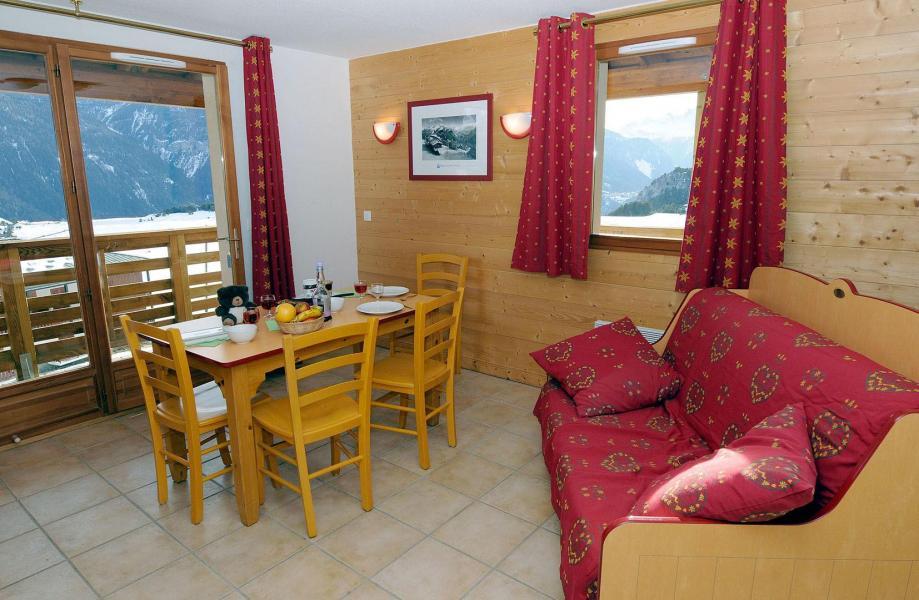 Urlaub in den Bergen Résidence les Flocons d'Argent - Aussois - Essbereich