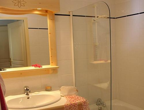Vacances en montagne Residence Les Flocons D'argent - Aussois - Salle de bains