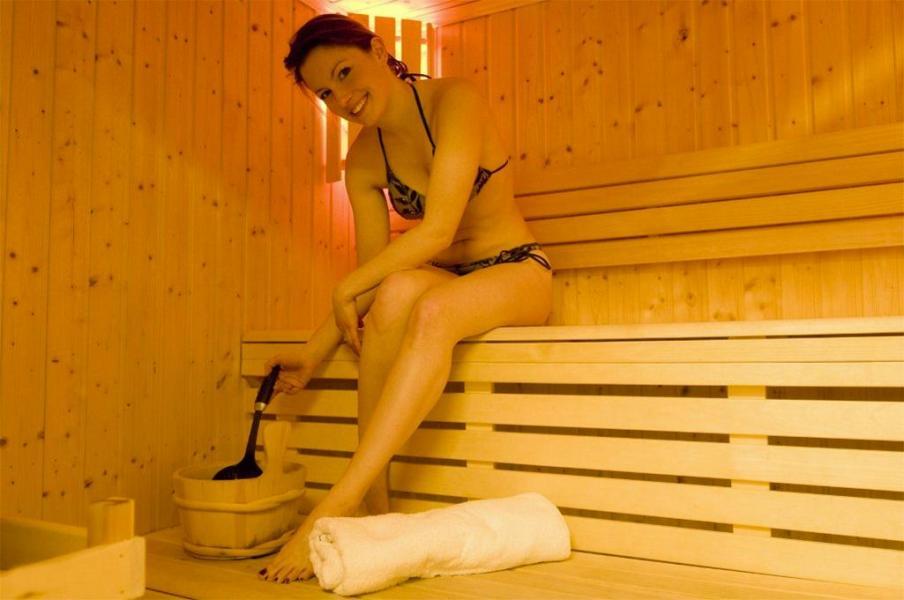 Holiday in mountain resort Résidence les Flocons d'Argent - Aussois - Sauna