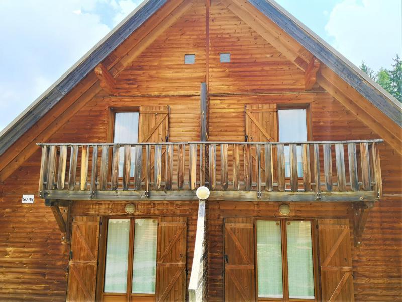 Holiday in mountain resort Semi-detached 3 room chalet 7 people (49 n'est plus commercialisé) - Résidence Les Flocons du Soleil - La Joue du Loup