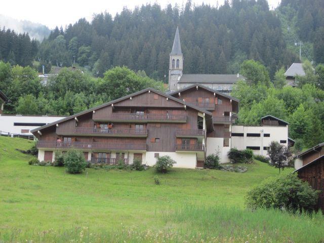Vacaciones en montaña Estudio -espacio montaña- para 3 personas (GEN043B) - Résidence les Gentianes - Châtel - Verano