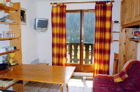 Vacaciones en montaña Estudio -espacio montaña- para 3 personas (GEN043B) - Résidence les Gentianes - Châtel