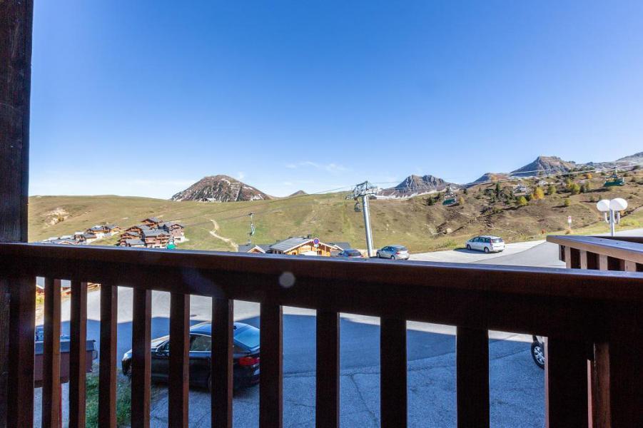 Location au ski Studio 3 personnes (D29) - Résidence les Gentianes - La Plagne - Extérieur été