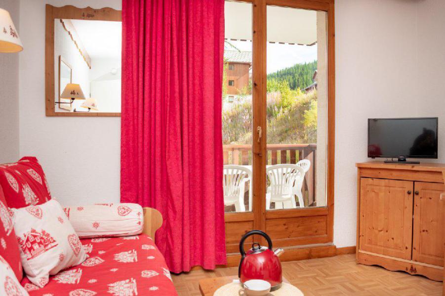 Vacances en montagne Studio coin montagne 4 personnes (A273027) - Résidence Les Gentianes - Puy-Saint-Vincent
