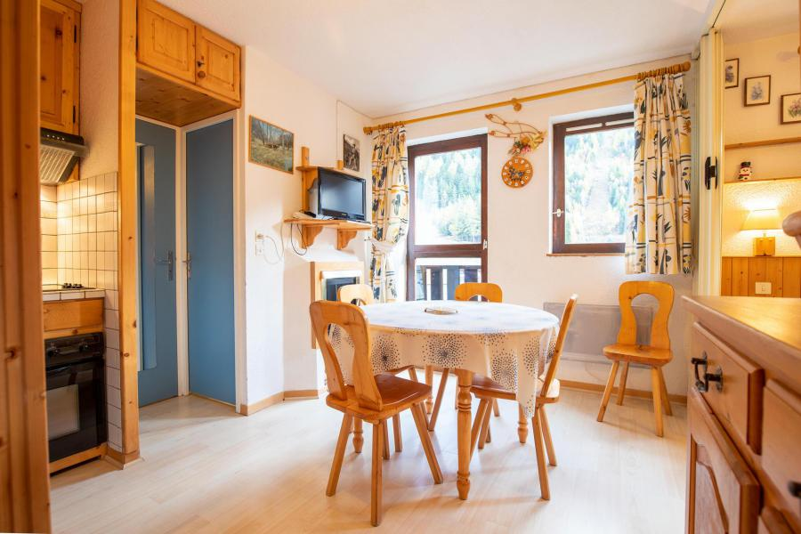 Vacaciones en montaña Apartamento 2 piezas para 4 personas (GE21G) - Résidence les Gentianes - La Norma - Comedor