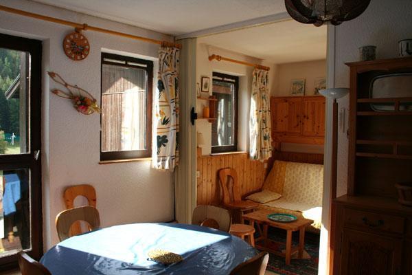 Vacaciones en montaña Apartamento 2 piezas para 4 personas (GE21G) - Résidence les Gentianes - La Norma - Mesa