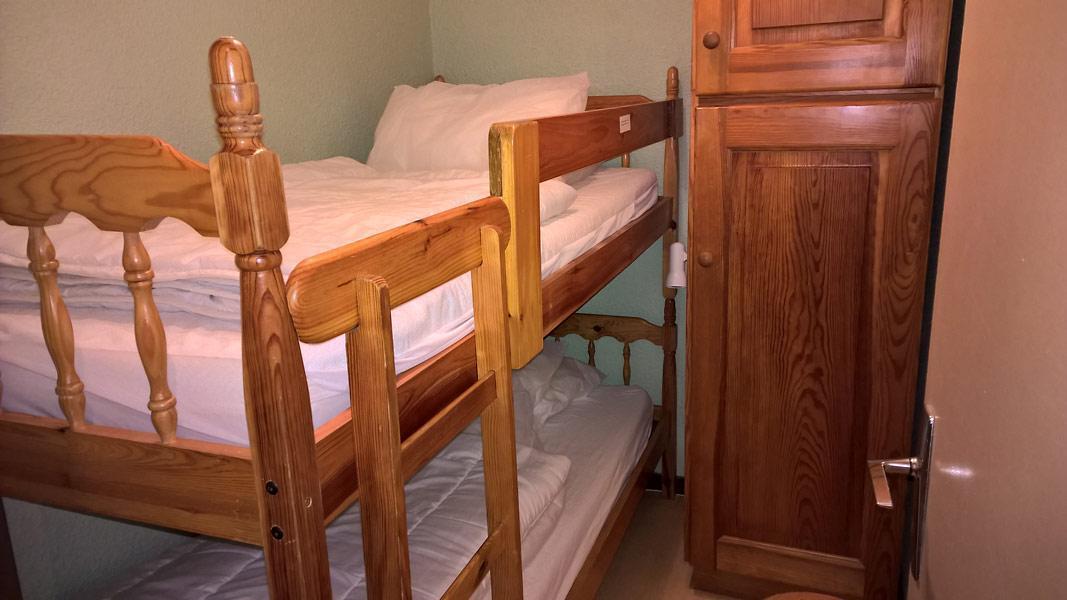 Vacaciones en montaña Apartamento cabina para 4 personas (GE09G) - Résidence les Gentianes - La Norma - Camas superpuestas
