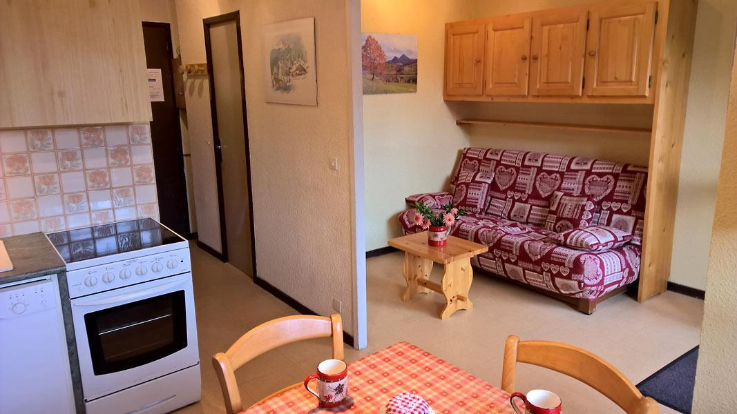 Vacaciones en montaña Apartamento cabina para 4 personas (GE09G) - Résidence les Gentianes - La Norma - Estancia