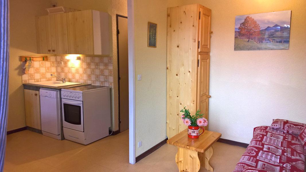 Vacaciones en montaña Apartamento cabina para 4 personas (GE09G) - Résidence les Gentianes - La Norma - Kitchenette