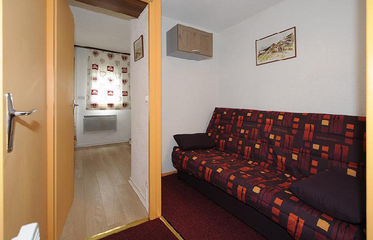 Vacances en montagne Studio cabine 4 personnes (110) - Résidence les Gentianes - Les Menuires - Kitchenette