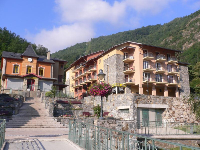 Rent in ski resort Résidence les Grands Ax - Ax-Les-Thermes - Summer outside