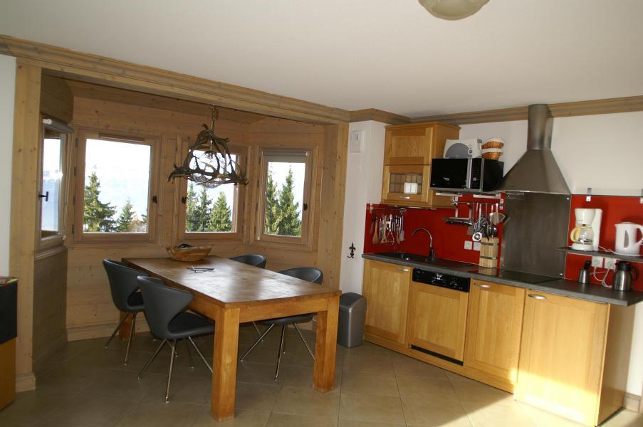 Holiday in mountain resort 3 room apartment cabin 6-8 people - Résidence les Granges des 7 Laux - Les 7 Laux - Kitchen