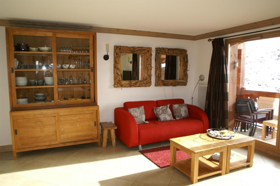 Holiday in mountain resort 3 room apartment cabin 6-8 people - Résidence les Granges des 7 Laux - Les 7 Laux - Living room