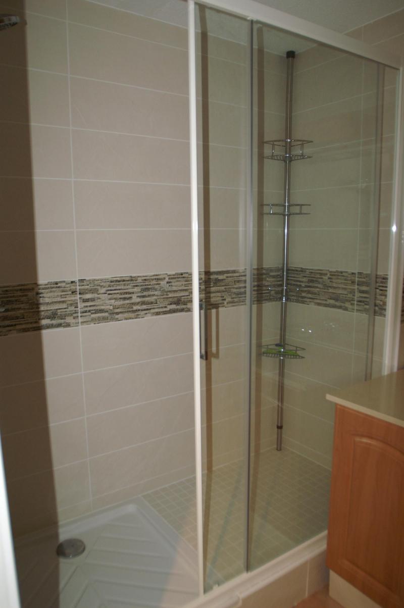 Vakantie in de bergen Appartement 2-3 kamers 4-6 personen - Résidence les Granges des 7 Laux - Les 7 Laux - Douche
