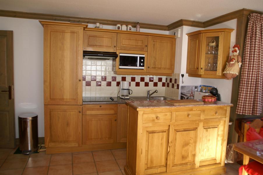 Vakantie in de bergen Appartement 2-3 kamers 4-6 personen - Résidence les Granges des 7 Laux - Les 7 Laux - Keuken
