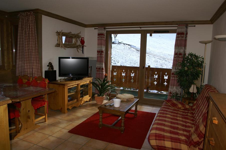Vakantie in de bergen Appartement 2-3 kamers 4-6 personen - Résidence les Granges des 7 Laux - Les 7 Laux - Woonkamer