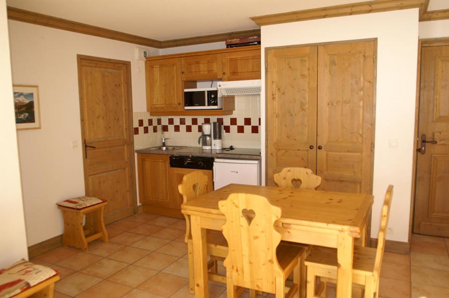 Vakantie in de bergen Appartement 2 kamers 4 personen - Résidence les Granges des 7 Laux - Les 7 Laux - Keuken