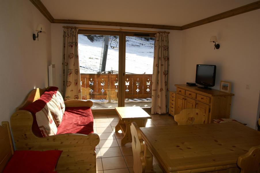 Vakantie in de bergen Appartement 2 kamers 4 personen - Résidence les Granges des 7 Laux - Les 7 Laux - Woonkamer